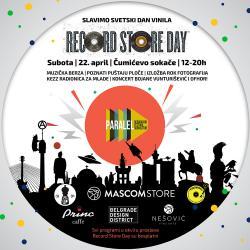 Record Store Day u Čumiću / subota, 22. april