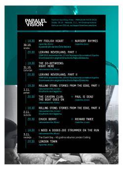 Karte za Paralel Vision u prodaji / 250rsd